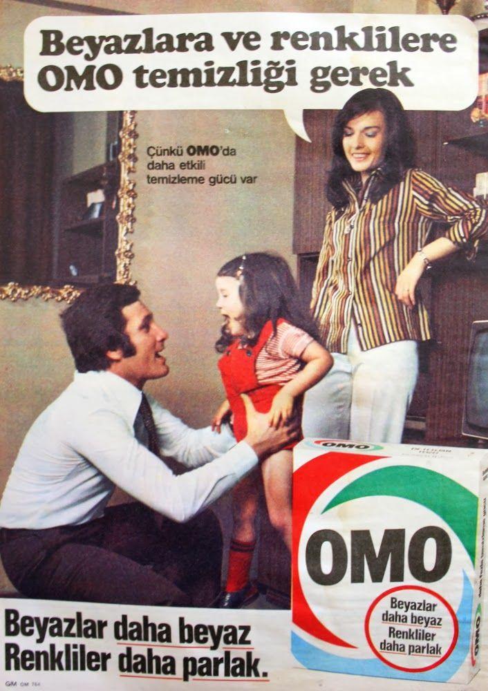 OĞUZ TOPOĞLU : omo deterjan 1976 nostaljik eski reklamlar