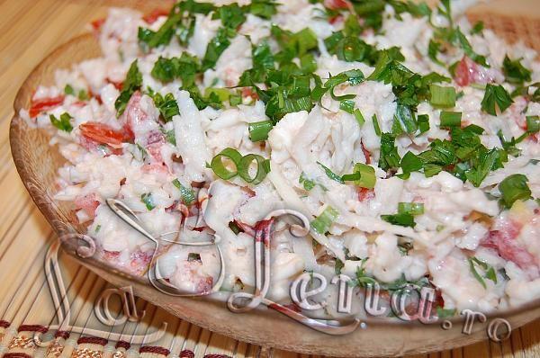 Salata de conopida cu rosii