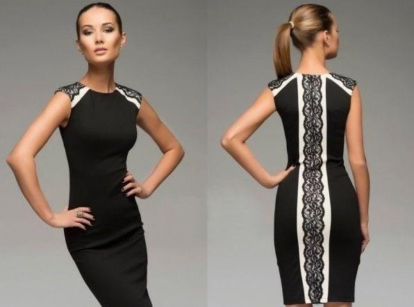 Как обновить старое платье с кружевными лентами