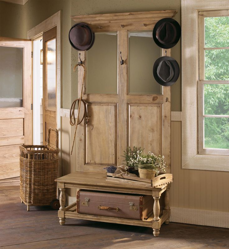 22 Best Entry Room Mirror Hall Tree Images On Pinterest