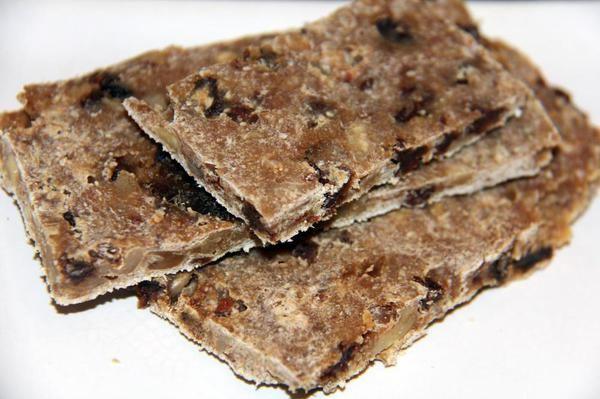вкусное и полезное сыроедное овсяное печенье фото