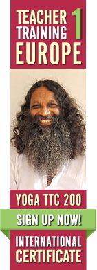 Yoga Teacher Training Svezia, Europa con Swami Santhiprasad