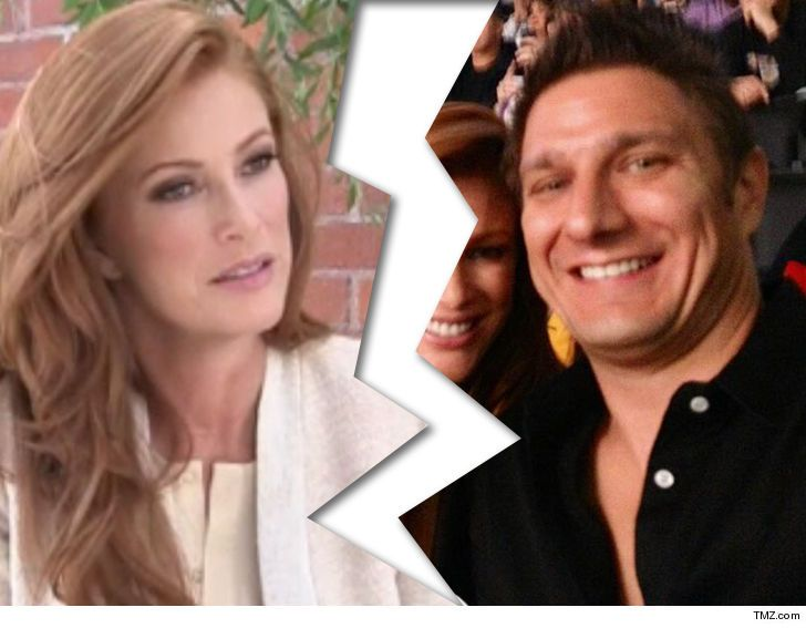 SI Swimsuit Model Angie Everhart Files for Divorce
