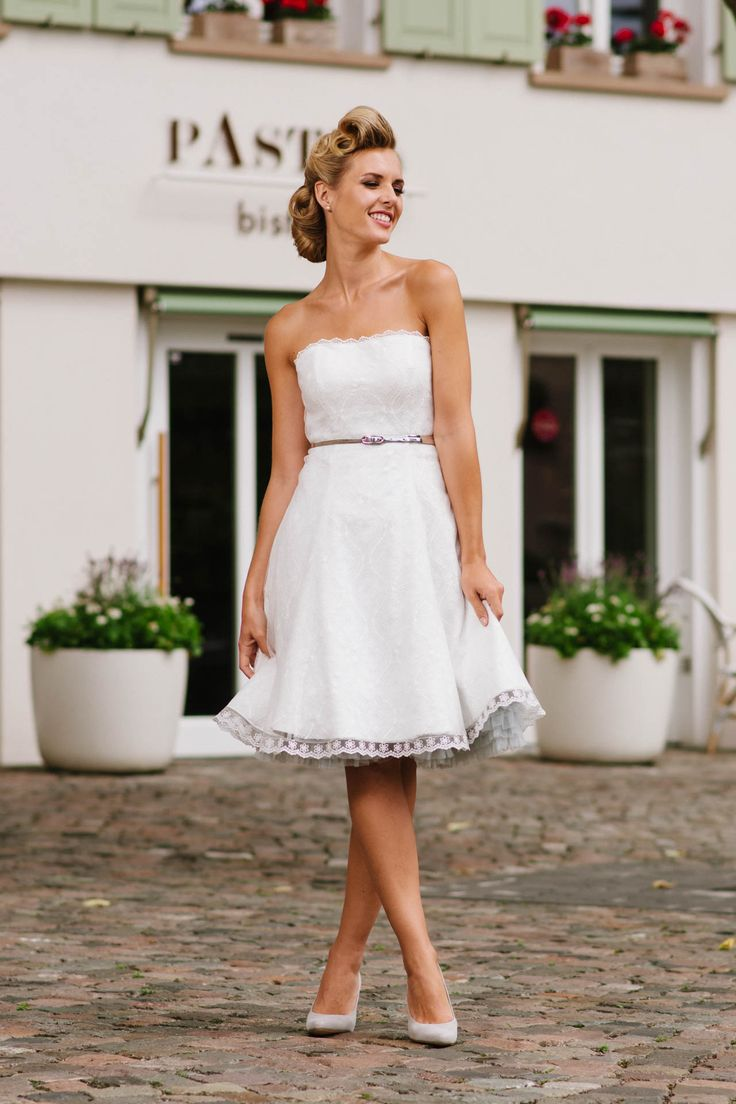 20 best Hochzeitskleid kurz images on Pinterest | Wedding frocks ...