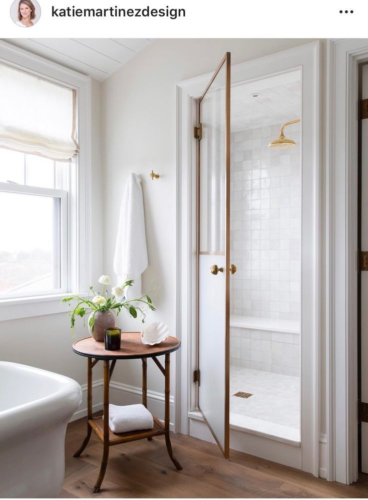 I Love The Shower Door In This Simply Equiset Bathroom Remember How The Base And Case Co Beautiful Bathrooms Bathroom Inspiration Amazing Bathrooms