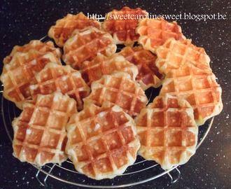 Luikse wafels of suikerwafels