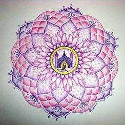 Mandala tekenen   Aventurijn