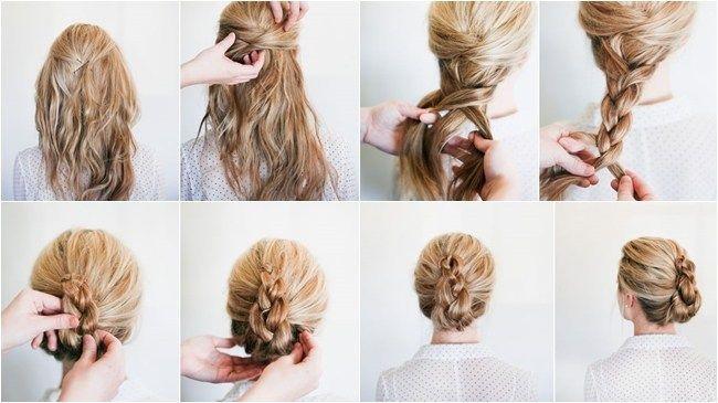 Los 5 Recogidos De Fiesta Mas Faciles Para Hacerte Tu Misma Idees De Coiffures Cheveux Courts De Mariage Les Meilleurs Produits Pour Cheveux
