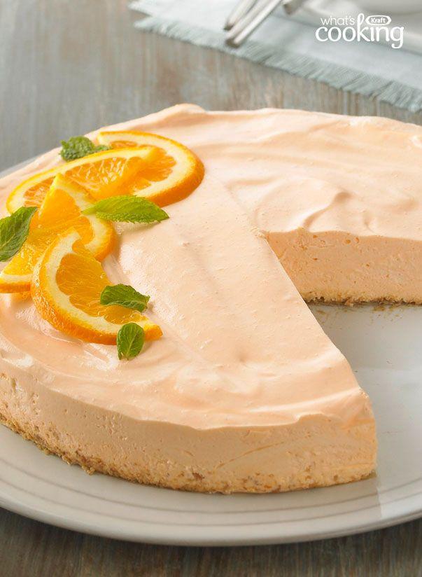 Orange Dream Cheesecake #recipe