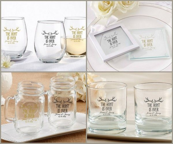Imprinted Antler Wedding Favors from HotRef.com