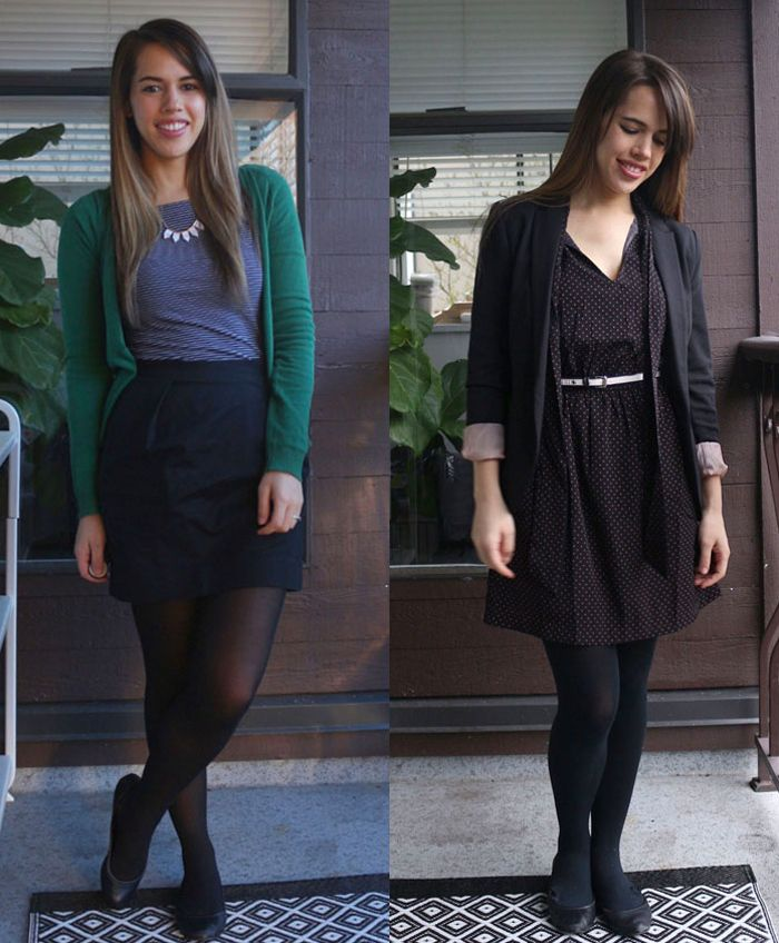 Jules in Flats March 2016 Outfits