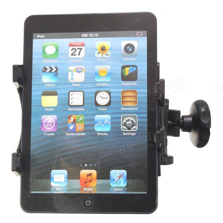 Universal Back Seat Headrest Tablet Mount Holder Car Stand Bracket For iPad 2 3 4 Tablet PC GPS Sale - Banggood.com