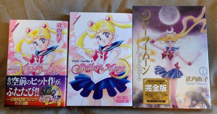 2nd Gen Japanese and English Sailor Moon manga longside the new 3rd Gen Japanese Sailor Moon manga! Order here! --> http://www.moonkitty.net/reviews-buy-sailor-moon-third-gen-kanzenban-manga.php