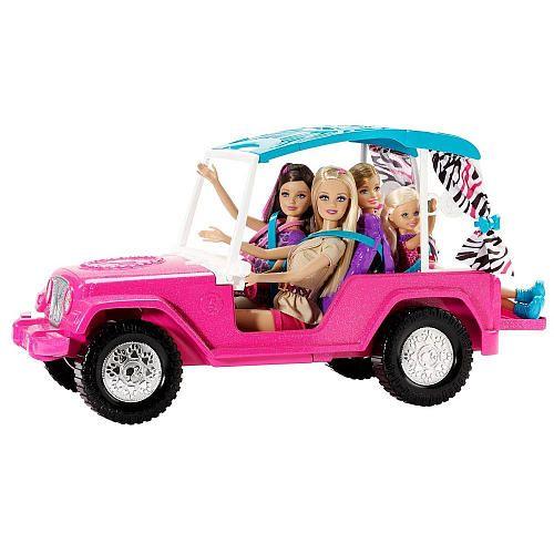 """Barbie Sisters Safari Cruiser - Mattel - Toys """"R"""" Us"""