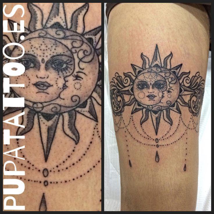 Tatuaje Sol Y Luna Juntos Sfb