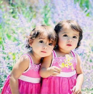 Image result for baby girl twins