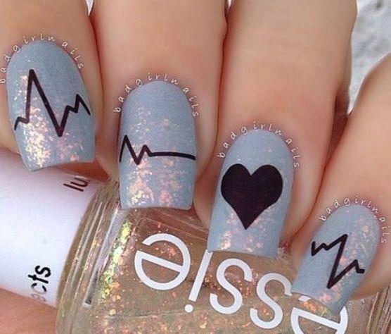Amo questa nail art