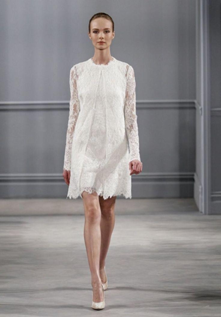 Top 10 rochii de mireasa scurte pentru 2014