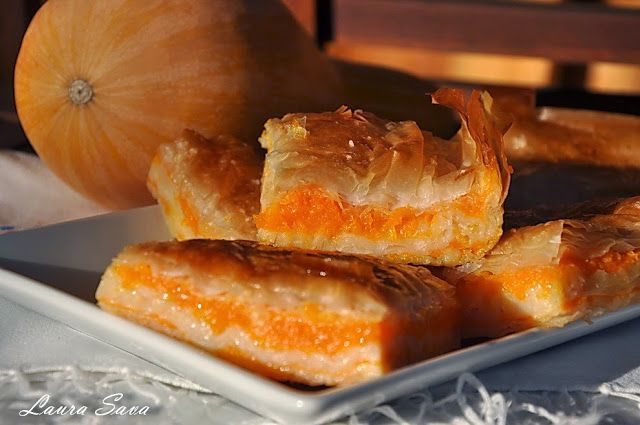 Placinta cu dovleac | Retete culinare cu Laura Sava