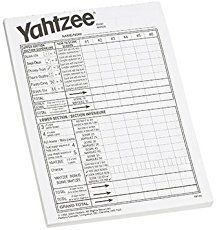 Here are some printable Yahtzee score sheets that you can print, use, and distribute for free.  Yahtzee is a fun brain game that trains strategic thinking.