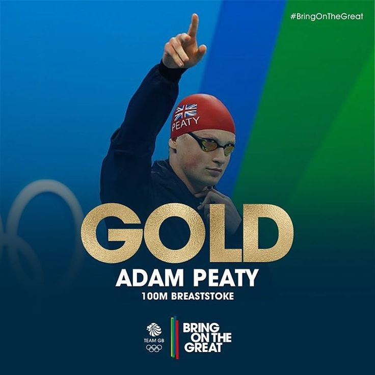 HE'S DONE IT! Well done @adam_peaty! With a #TeamGBWorldRecord of 57.13…