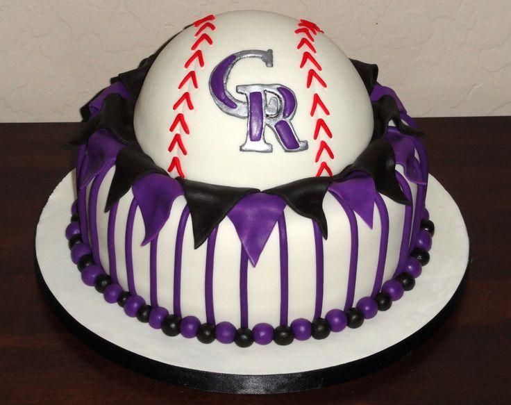 colorado rockies birthday cake - Google Search