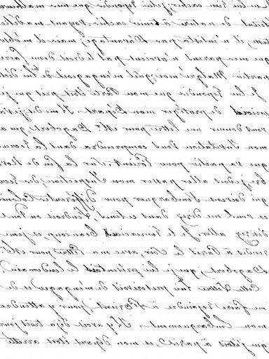 transfer - French Script