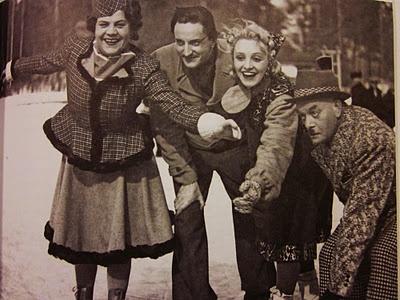 Siiri Angerkoski, Turo Kartto, Ansa Ikonen and Aku Korhonen in Täysosuma (1941)