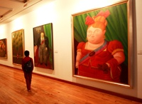 Botero Museum, Bogotá - I would love to see a Botero original! KF