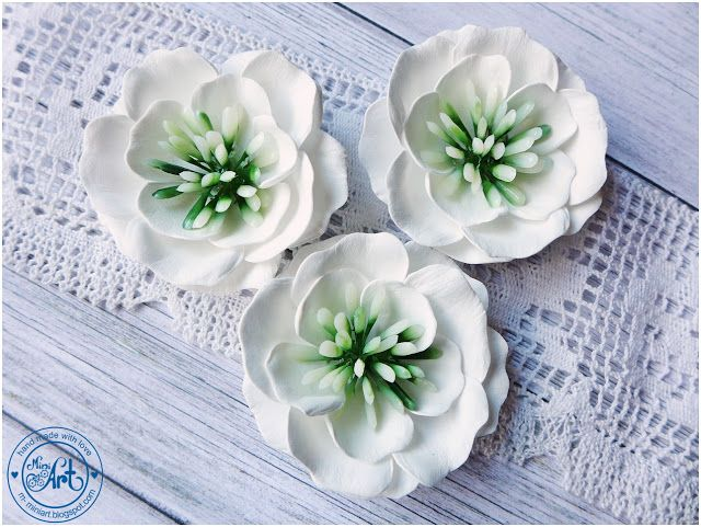 MiniArt - hand made with love: nowe kwiatuszki... / new flowers... - DT Craft Passion