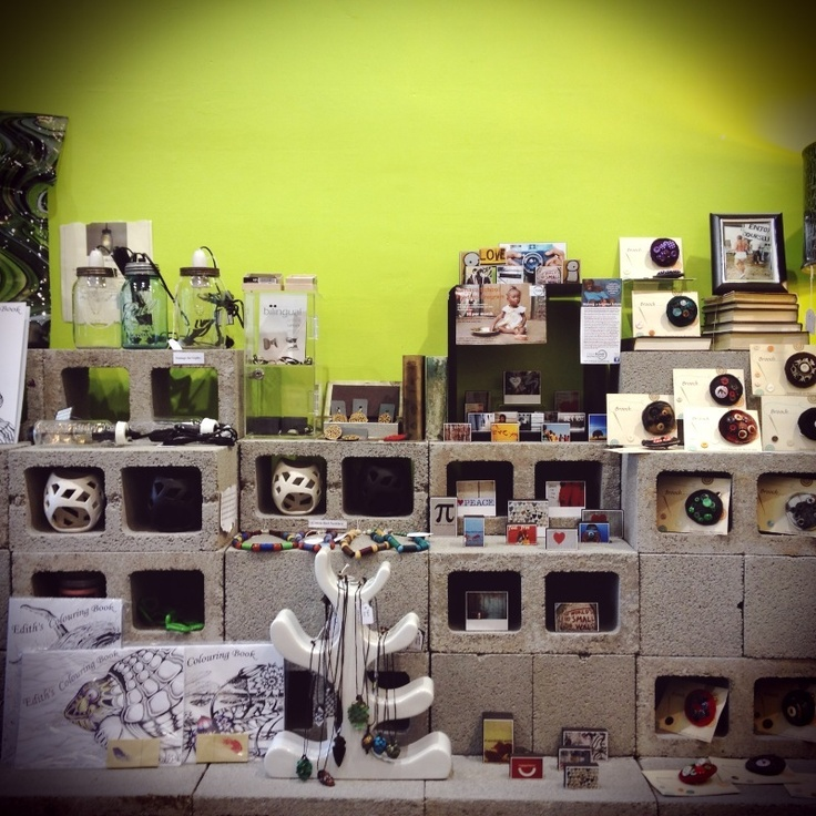 Beser brix new shelving display at Can't Think Straight in #Daylesford