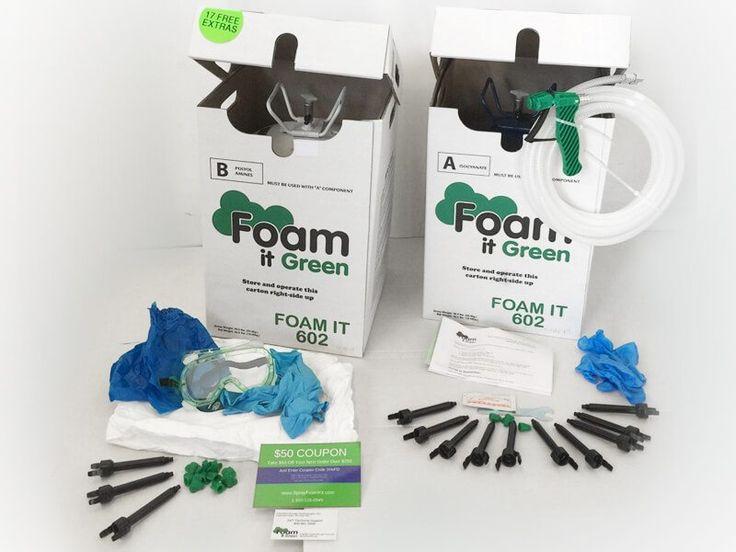 Foam it green 602 closed cell spray foam insulation