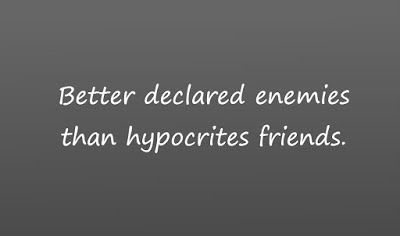 Cardboard Express Quote Diary: Hypocrites friends