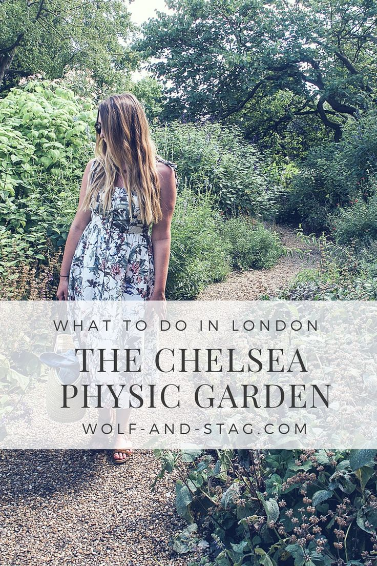 Wandering around the Chelsea Physic Garden in London, wearing a floral dress | What to do in London | Wolf & Stag