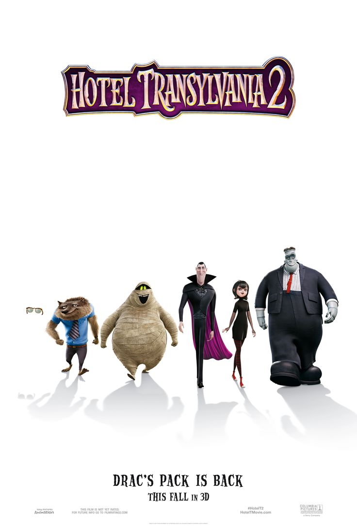 Hotel Transylvania 2: Drac is Back Pack #Giveaway