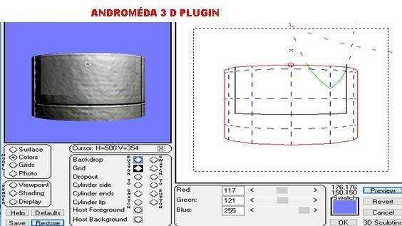 ANDROMÉDA 3D BEÁLLÍTÁS
