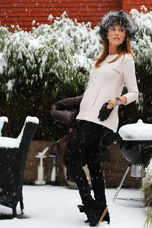 passion4fashion: It's snowing….