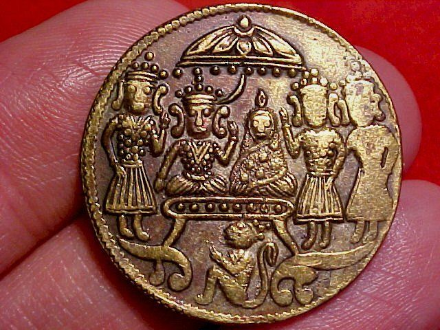 Indian Temple Token Coins Pinterest What Is This