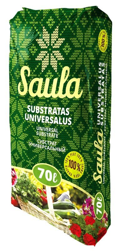 Substratas universalus Saula, 70l