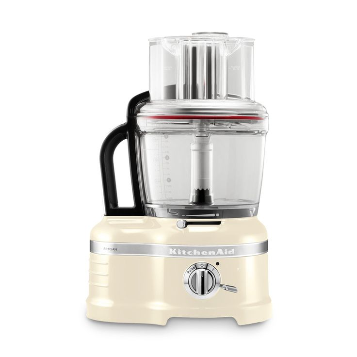 Food Processor Artisan 4 l creme 17 tlg.