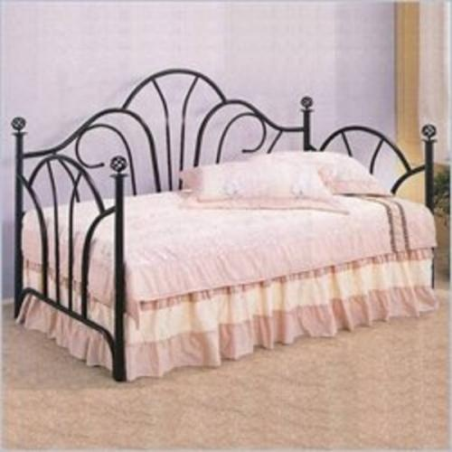 Best Black Wrought Iron Day Bed Ideas Guest Room Pinterest 400 x 300
