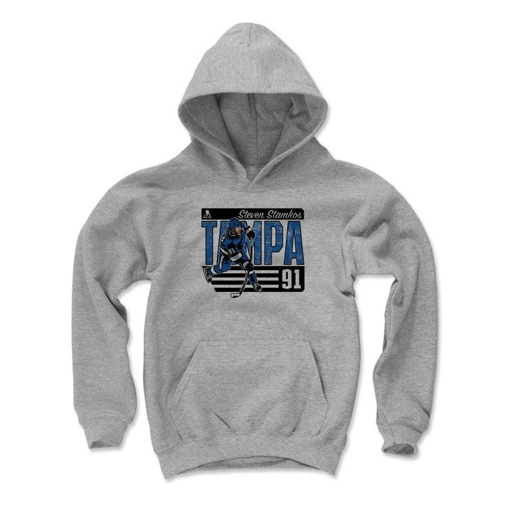 Steven Stamkos City B Tampa Bay Officially Licensed NHLPA Unisex Youth Hoodie S-XL