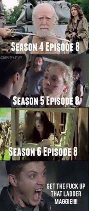 The mid-season finales have not been kind to the Greene family.