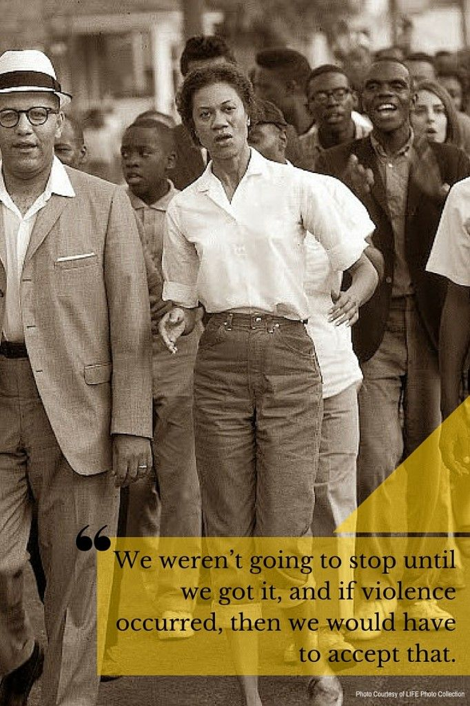 Gloria Richardson was a leader in the Civil Rights Movement #womenshistory #BlackHistoryMonth