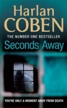 Seconds Away (Mickey Bolitar 2)  - Harlan Coben.    Mickey and his loyal new friends, sharp-witted Ema and adorably charming Spoon, once again find themselves in over their heads on the hunt for missing pieces to a puzzle they have yet to understand. As the mystery surrounding Mickey's dad's death unfolds, he soon learns that they may be in more danger than they could have ever imagined.