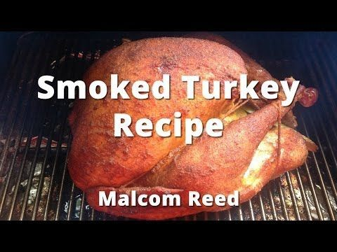 How To Smoke A Turkey (Whole Smoke Turkey)