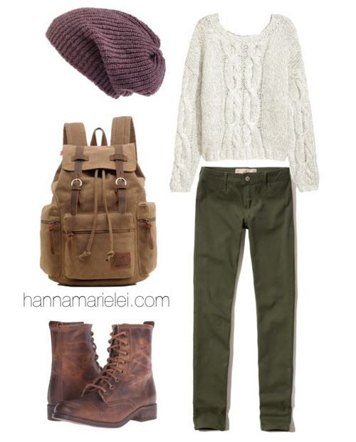 Autumn / Fall Army Outfit Inspiration