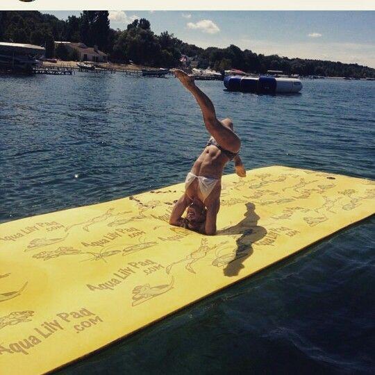 6 x 18 Mat $499.99 can ship to you for minimal fee 918-286-7900 #usa #aqualilypadok  #aqualilypad #Lake #Yachting #Sailing #PWC #WaterPlatform #seadoo #JetSki #H2oMat  #WaterToy  #watermat  #Summer2015 #summertime #WaterPark #laketime #Dock #lake #Monterey #Baja #Formula #FunInTheSun #Cruiser #GrandLaker #GrandLake #Skiatook #Keystone #Hudson #Eufaula #Tenkiller #Oolagah #FtGibson#Laketoy #LakeFloat #WaterFloat #Ocean #HitchIt #Tulsa #Oklahoma #Trailersales #TrailerParts #TrailerRepair…