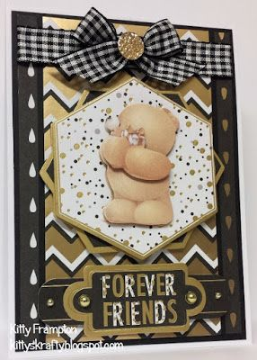 Made for Making Cards Magazine using Papermania Forever Friends Decadence Collection.