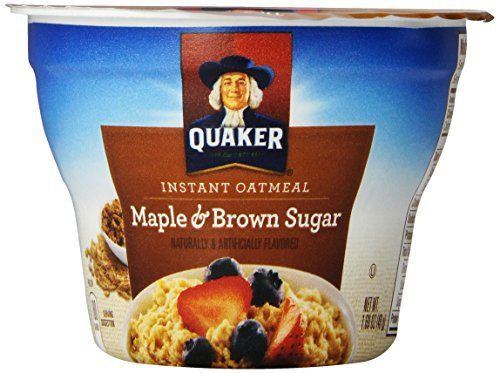 1000+ ideas about Quaker Instant Oatmeal on Pinterest ... Quaker Instant Oatmeal Maple And Brown Sugar